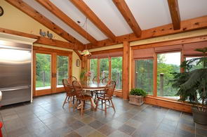 Kitchen Dining Area - Country homes for sale and luxury real estate including horse farms and property in the Caledon and King City areas near Toronto